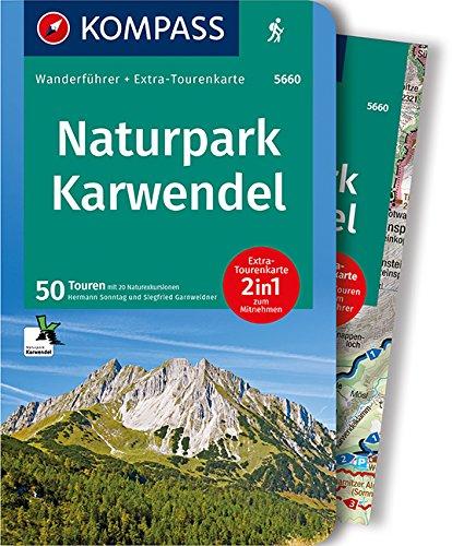 9783850269513: Naturpark Karwendel: Wanderführer mit Extra-Tourenkarte 1:35.000, 50 Touren, GPX-Daten zum Download: Wandelgids met overzichtskaart