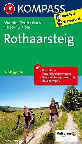 9783850269865: Rothaarsteig 1 : 50 000: Wander-Tourenkarte. GPS-genau