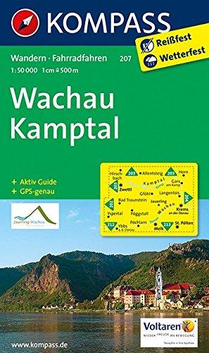 9783850269933: Wachau - Kamptal 1 : 50 000: Wanderkarte mit Aktiv Guide und Radrouten. GPS-genau