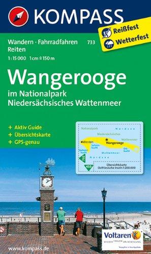 9783850269964: Wangerooge im Nationalpark Niedersächsisches Wattenmeer 1 : 15 000: Wandern, Fahrradfahren, Reiten. GPS-genau