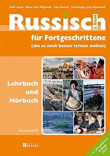 9783850286060: Russisch für Fortgeschrittene 02. Lehrbuch und Hörbuch