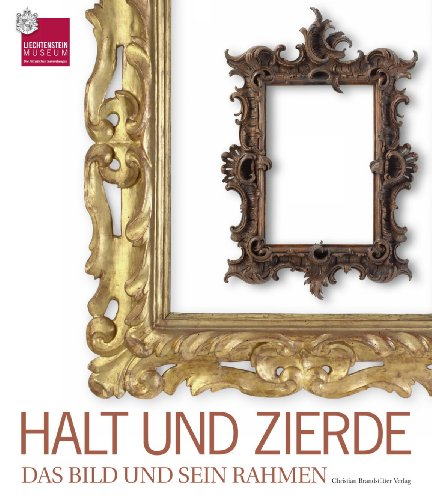 Halt und Zierde: Das Bild und sein: Johann Kräftner