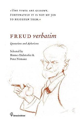 9783850335324: Freud verbatim: Quotations and Aphorisms
