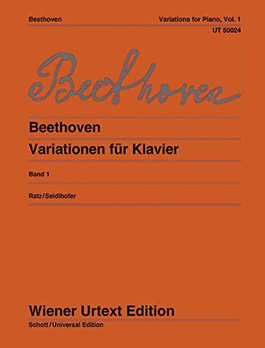 9783850550239: Variationen: nach Autografen, Abschriften und Originalausgaben herausgegeben. Band 1. Klavier (Wiener Urtext)
