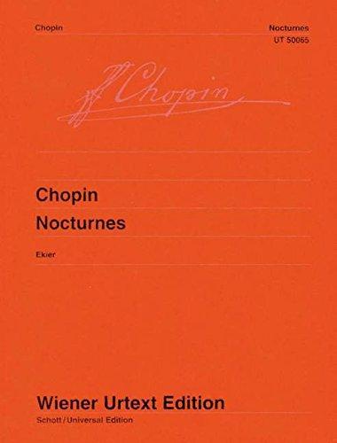 9783850550642: Nocturnes: Nach den Autographen, Abschriften und Originalausgaben (Wiener Urtext)
