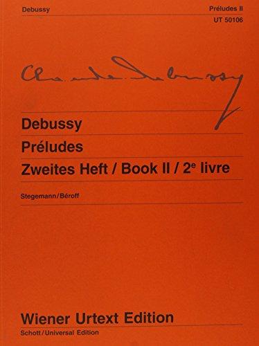 9783850550994: Préludes: Nach Autograf und Erstausgabe. Band 2. Klavier (Wiener Urtext)