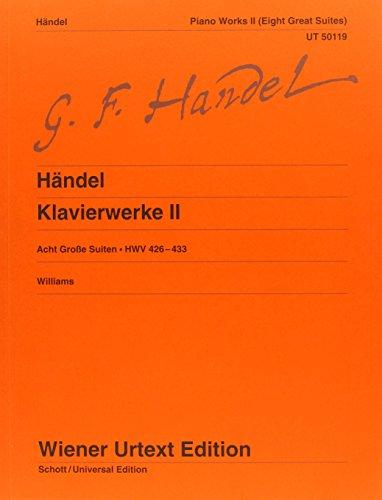 9783850555517: Composizioni Vol. 2 (8 Grandi Suites Hwv 426-433) Piano (Wiener Urtext)