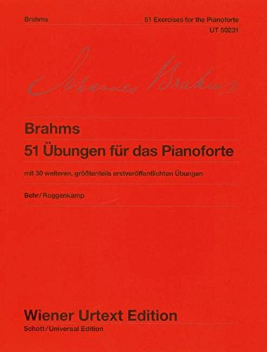 51 Übungen für das Pianoforte - Johannes Brahms
