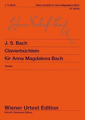 9783850555661: Clavierbüchlein der Anna Magdalena Bach