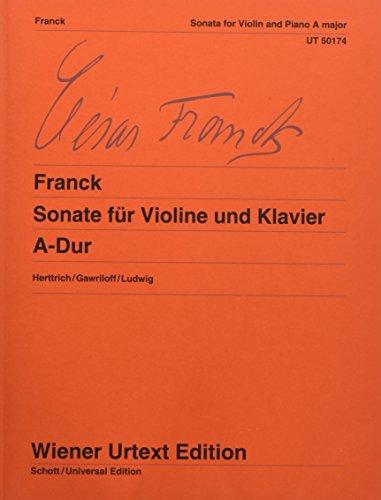 9783850555746: Franck: Violin Sonata in A Major