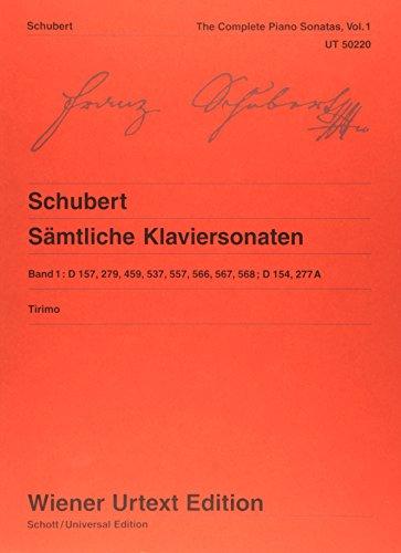 9783850555845: Sämtliche Klaviersonaten: Nach den Quellen herausgegeben, kommentiert und mit Fingersätzen versehen. Band 1. Klavier (Wiener Urtext)