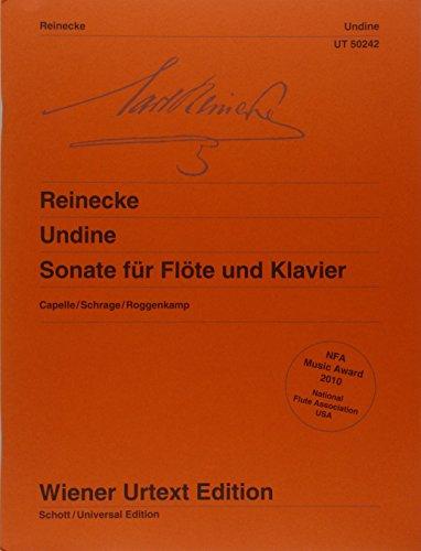 Undine, Sonate for Flute and Piano: Carl Reinecke