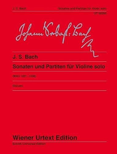 Sonaten und Partiten für Violine solo - Glüxam, Dagmar