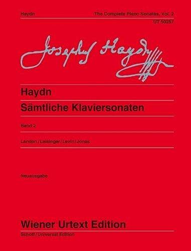 9783850556545: Sämtliche Klaviersonaten: Sonaten Hob. XVI:18-20, XVI:33, XVI:43-47, XVI:5a. Ed. Landon/Leisinger/Levin. Volume 2. Klavier (Wiener Urtext)