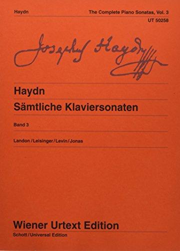 9783850556552: Haydn: Complete Piano Sonatas - Volume 3