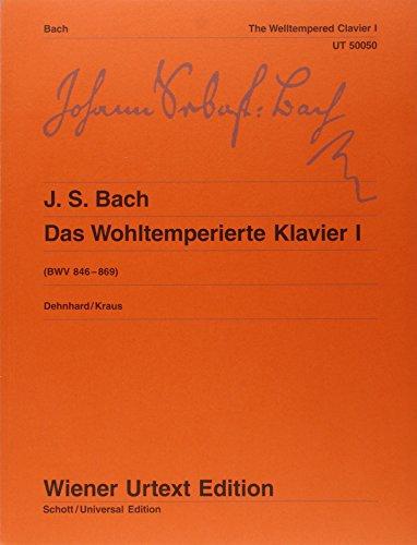 9783850556750: Das Wohltemperierte Klavier / 2Bde: Wohltemperiertes Klavier. Teil I und II kplt.. Klavier