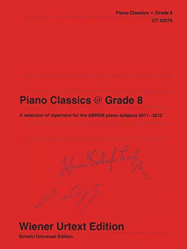 9783850557047: Piano Classics Grade 8 a Selection of Re (Wiener Urtext)