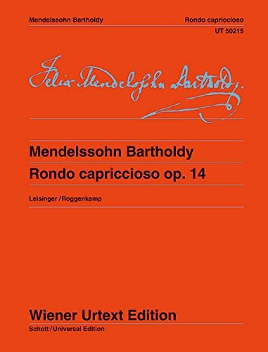 9783850557177: Rondo Capriccioso (for Piano)