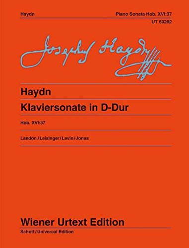 9783850557337: Piano Sonata In D Major