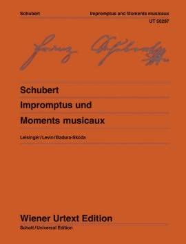 9783850557368: Schubert: Impromptus, Moments musicaux [Wiener Urtext]