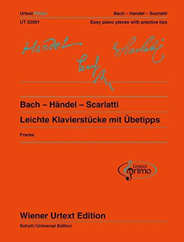 9783850557375: Easy Piano Pieces With Practice Tips: Vol.1 (for Piano) (Wiener Urtext Piano/Vocal Scores) (Wiener Urtext Primo) (English and German Edition)