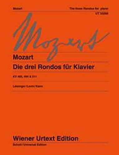 9783850557542: 3 Rondos Kv 485 494 511 (Wiener Urtext)