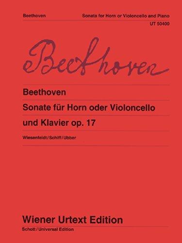 9783850557566: Sonata Op 17 (Wiener Urtext)