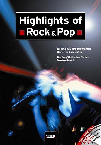Highlights of Rock & Pop - Liederbuch: Maierhofer, Lorenz