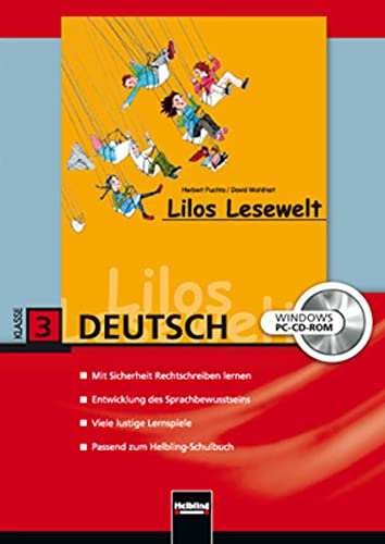 Lilos Lesewelt 3: CD-ROM für zu Hause: Puchta Herbert, Fröhler