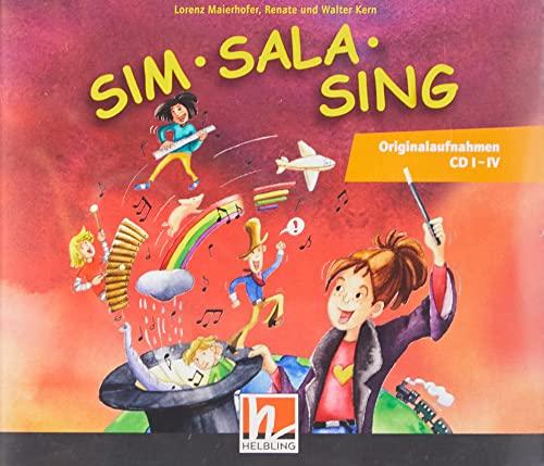 Sim Sala Sing. 4 AudioCDs: Originalaufnahmen 4: Lorenz Maierhofer; Walter