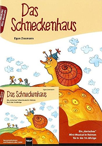 9783850616546: Das Schneckenhaus, m. Audio-CD