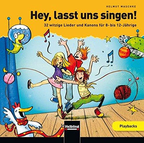 9783850617154: Hey, lasst uns singen. Playback-CD