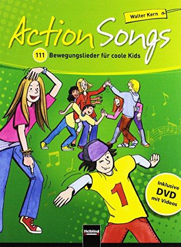 Action Songs. Paket (Liederbuch inkl. DVD + 2 Audio-CDs): Walter Kern