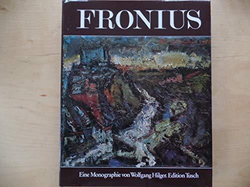 9783850630894: Hans Fronius: Eine Monographie