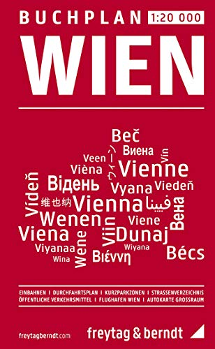 9783850840019: Vienna: One Way Streets Map 1:25, 000 (German Edition)