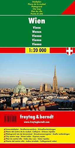 9783850841054: Vienna, City Map (German Edition)