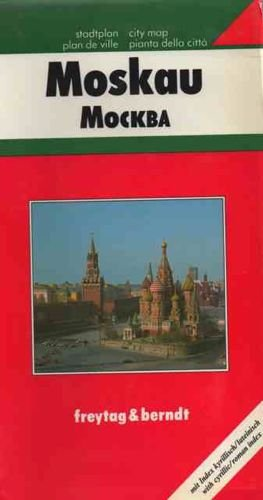 9783850841115: Plan de ville : Moscou