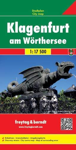9783850841191: Klagenfurt am Wörthersee 1 : 17 500 (Freytag-Berndt Stadtplan)