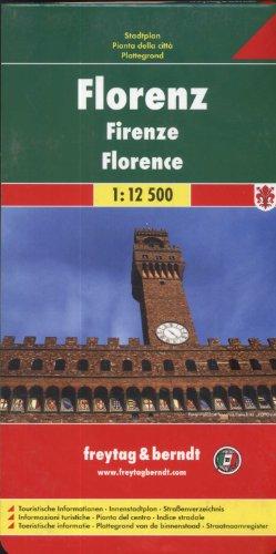 9783850841306: Florence, Italy Street Map (Italian Edition)