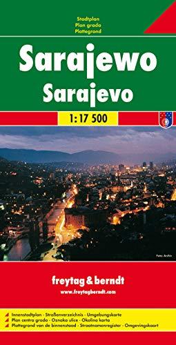 9783850841641: Sarajevo Map (City Map) (English, French, Italian and German Edition)