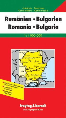 9783850842099: Carte routi�re : Roumanie - Bulgarie : Romania - Bulgaria (en anglais)