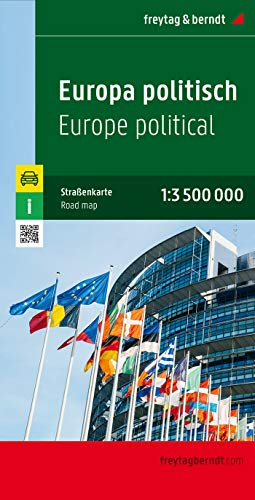 9783850842228: Europe Map (English, French, Italian and German Edition)