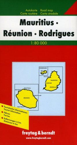 9783850842433: Carte routière : Mauritius
