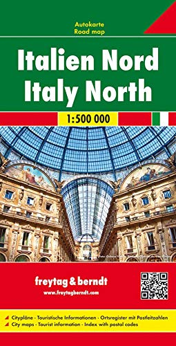 9783850842600: Italy, Northern Map (English, French, Italian and German Edition)