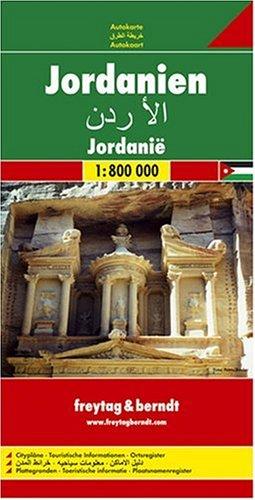 9783850842792: Jordan Map (English, French, Italian and German Edition)