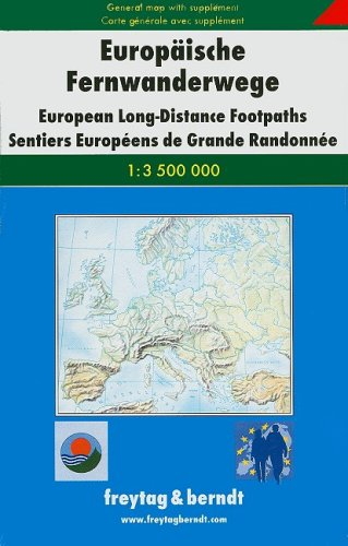 9783850842907: Europaische Fernwanderwege/European Long-Distance Footpaths/Sentiers Europeens de Grande Randonnee [With Supplement] (German Edition)