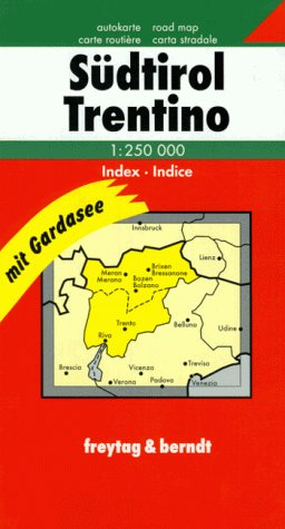 9783850843058: Italy: South Tyrol - Trentino 1:250 000 (English, French, Italian and German Edition)