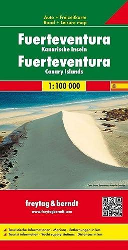 9783850843102: Fuerteventura, mapa de carreteras. Escala 1:100.000. Freytag & Berndt. (Auto karte)