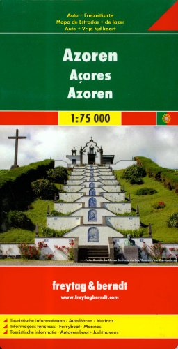 9783850843157: Azores (Road Maps) (English, French and German Edition)