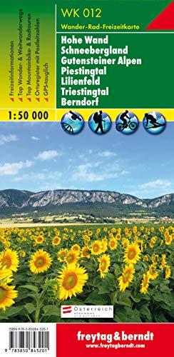 9783850843201: Hohe Wand Schneebergland 1:50.000 (Wander Karte)
